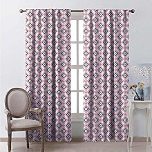 99% blackout curtains Intricate Curvy Hearts For