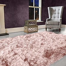 9cm Extra Thick Dense Pile SHAGGY RUG with SPARKLE