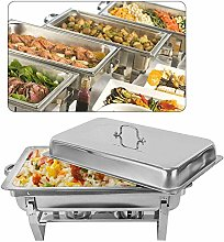 9L Chafing Dish Food Warmer Stainless Steel Warmer