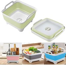 9L Foldable Multifunction Square Sink Wash
