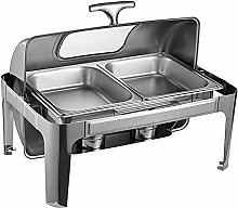 9L Full Size Chafing Dish, Stainless Steel Food