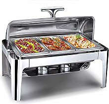 9L Stainless Steel Chafing Dish Set Buffet Silver