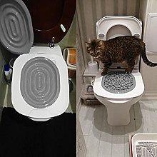 A/A Cat Potty Trainer Cat Training Toilet Cat