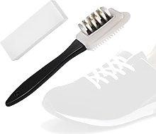 a amvontz Suede Shoe Brush Cleaning: Nylon Bristle