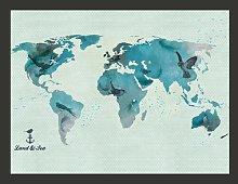 A Bird's World 1.54m x 200cm Wallpaper East