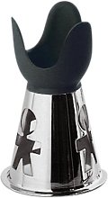 A di Alessi Girotondo Egg Cup, Black, (AKK02 B)
