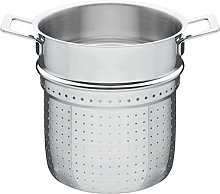 A di Alessi Pierced Basket, Stainless-Steel