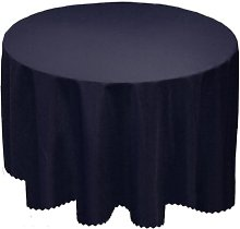 A-Express® Plain Tablecloth Round Circular Table
