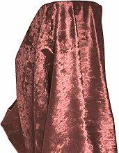 A-Express Premium Glitz Soft Crushed Velvet Fabric