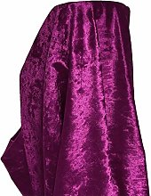 A-Express Premium Glitz Soft Crushed Velvet Fabric