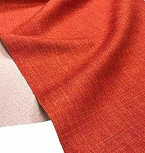 A-Express Soft Plain Linen Look Fabric Craft