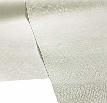 A-Express Soft Plain Linen Look Fabric Craft