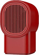 A-Generic mini fan heater red small home dormitory