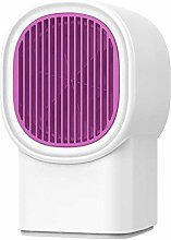 A-Generic mini fan heater white small home