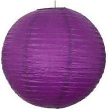 A Liittle Tree Dark Purple Paper Lanterns (10x14)