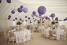 A Liittle Tree Mix Paper Lanterns, Purple & Lilac