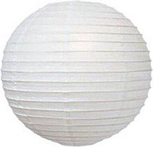 A Liittle Tree White Round Paper Lanterns (10x14)