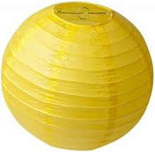 A Liittle Tree Yellow Paper Lanterns (10x14)