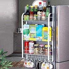 A/N Fridge Hanging Rack Refrigerator Rack Kitchen