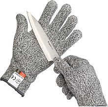 A pair of grade cuts resistant gloves, gardening