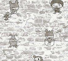 A.S. Création Boys & Girls 6 36987-2 Wallpaper