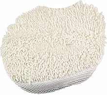 A TL 2 x Coral Microfibre Steam Mop Pads to fit