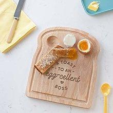 A Toast to an Egg-cellent Boss Breakfast Egg Board