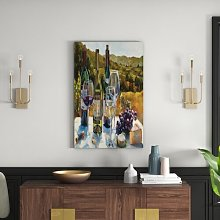 A Wine Tasting' Print on Wrapped Canvas