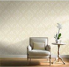 A10702 Fabric Wallpaper - Silver Plain - Grandeco