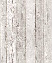 A17401 Wood Pattern Line Wallpaper, Multi-Colour,