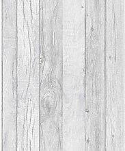 A17402 Wood Pattern Line Wallpaper, Multi-Colour,