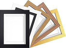 A2 OAK MODERN WIDE PHOTO PICTURE POSTER FRAME WITH