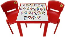 A406 Strong Kids children Table and Chairs set for