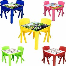 A406 Toddler Plastic Table and Chairs for Children