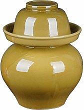 AAAHHH Traditional Fermentation Pottery Pot Jar,