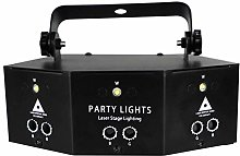 AABBC Stage Lights, 9-Eye RGB Scan Projector, LED