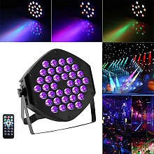 AABBC UV Black Lights 36 LED Par Light Stage Disco