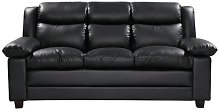 Aadi 3 Seater Sofa Marlow Home Co. Upholstery