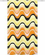 Aalto Curtain 140 x 250 cm Orange Yellow