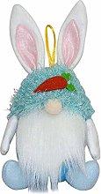 AAQQ Easter Bunny Candy Jar,Easter bunny goblin