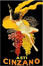 Aawerzhonda Modern colour posters Cinzano Alcohol