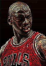 Aawerzhonda Modern colour posters Michael Jordan
