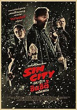 Aawerzhonda Modern colour posters Sin City classic
