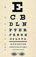 Aawerzhonda Nordic style poster Antique Eye Chart
