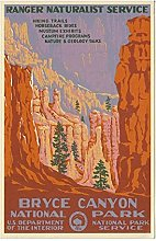 Aawerzhonda Nordic style poster Bryce Canyon