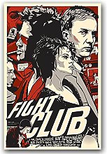 Aawerzhonda Poster Artworks Fight Club Classic