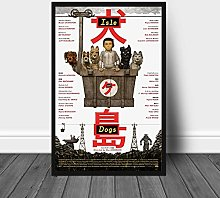 Aawerzhonda Poster Artworks Isle of Dogs Movie
