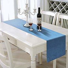AAYU Blue Denim Table Runner | Stone Washed