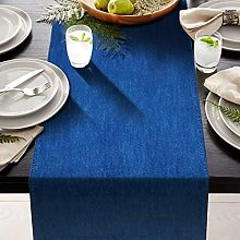 AAYU Denim Table Runner 33 x 274 cm Stone Washed
