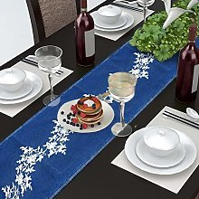 AAYU Embroidered Denim Table Runner 36 x 183 cm |